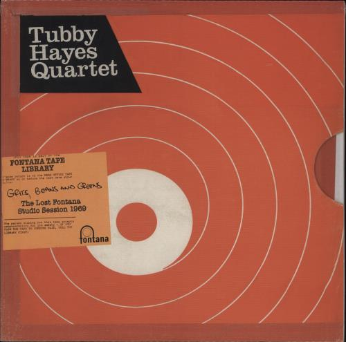 Tubby Hayes Grits, Beans And Greens - 180gram Vinyl vinyl LP album (LP record) German TH-LPGR775163