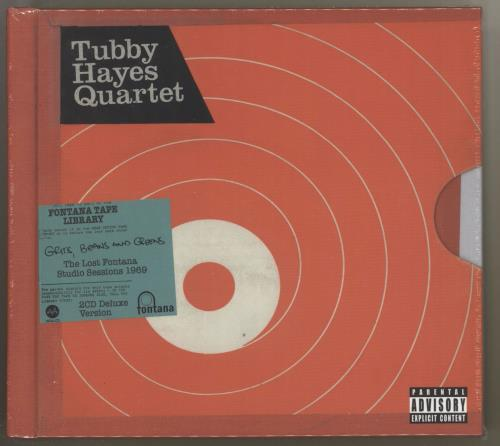 Tubby Hayes Grits, Beans And Greens: The Lost Fontana Studio Sessions 1969 - Deluxe 2 CD album set (Double CD) UK TH-2CGR726958