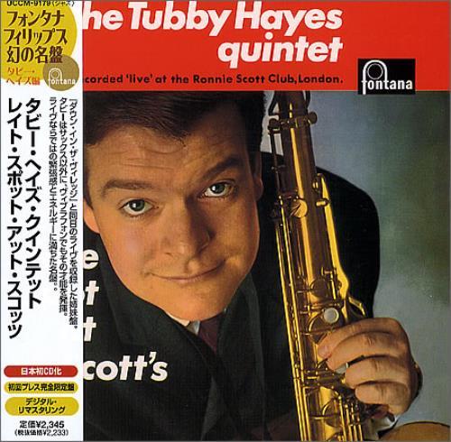 Tubby Hayes Late Spot At Scott's CD album (CDLP) Japanese TH-CDLA365521