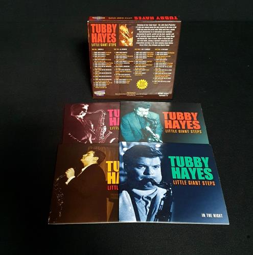 Tubby Hayes Little Giant Steps 4-CD album set UK TH-4CLI759061