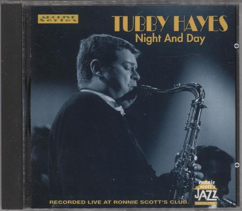 Tubby Hayes Night And Day CD album (CDLP) US TH-CDNI741990