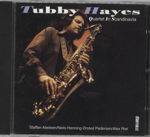Tubby Hayes Quartet In Scandinavia CD album (CDLP) Danish TH-CDQU741996