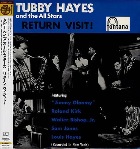 Tubby Hayes Return Visit! - 180gm vinyl LP album (LP record) Japanese TH-LPRE363314