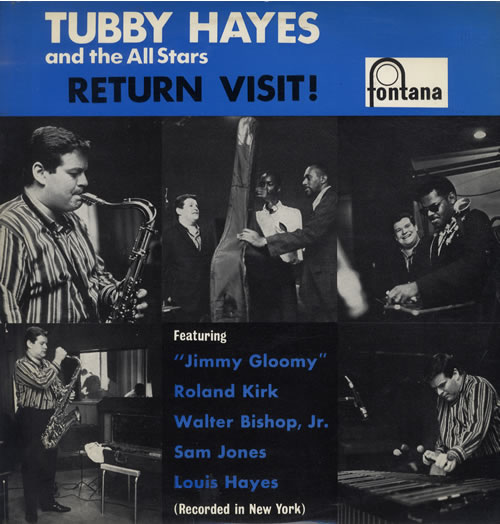 Tubby Hayes Return Visit! vinyl LP album (LP record) Dutch TH-LPRE550637
