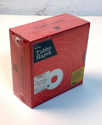 Tubby Hayes The Complete Fontana Albums (1961-1969) CD Album Box Set UK TH-DXTH754630