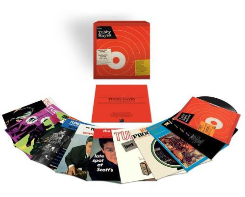 Tubby Hayes The Fontana Albums 1961-1969 Vinyl Box Set UK TH-VXTH747600