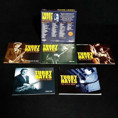 Tubby Hayes The Little Giant 4-CD album set UK TH-4CTH759059