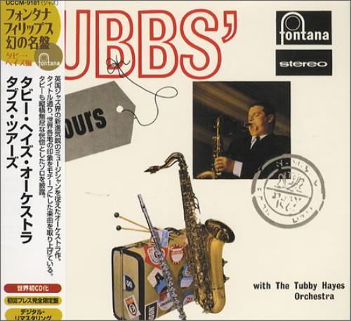 Tubby Hayes Tubbs' Tours CD album (CDLP) Japanese TH-CDTU365518
