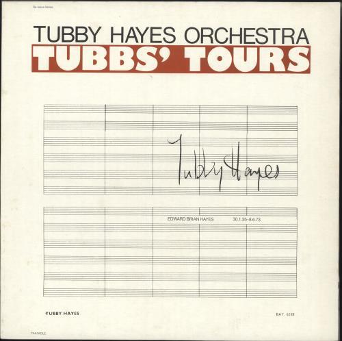 Tubby Hayes Tubbs' Tours vinyl LP album (LP record) UK TH-LPTU469216