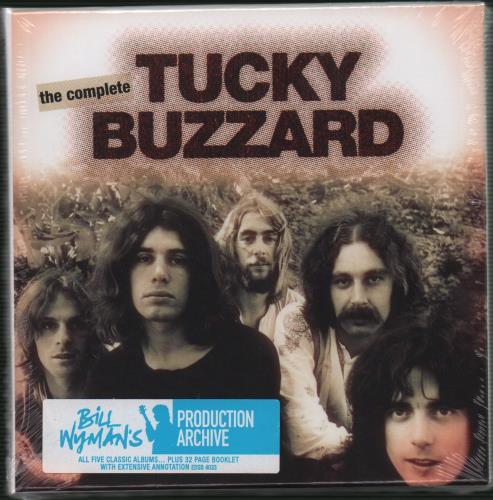 Tucky Buzzard The Complete Tucky Buzzard - Sealed Box Set 5-CD album set UK TBZ5CTH661583