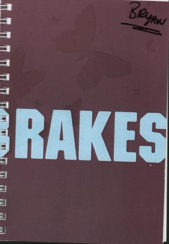Turin Brakes A Pair of 2005 Tour Itineraries Itinerary UK TKEITAP643994