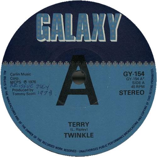 "Twinkle Terry - A Label 7"" vinyl single (7 inch record) UK T3Z07TE637158"