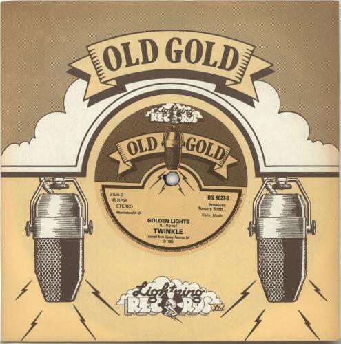 """Twinkle Terry 7"""" vinyl single (7 inch record) UK T3Z07TE521127"""
