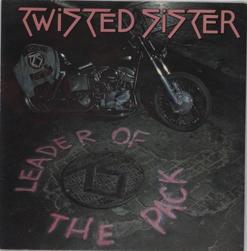 """Twisted Sister Leader Of The Pack 7"""" vinyl single (7 inch record) UK TWS07LE224240"""