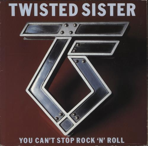 Twisted Sister You Can't Stop Rock 'n' Roll vinyl LP album (LP record) German TWSLPYO422774