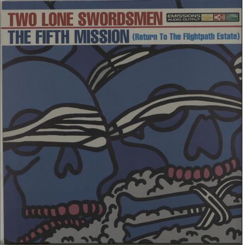 Two Lone Swordsmen The Fifth Mission 3-LP vinyl record set (Triple Album) UK TLO3LTH645180