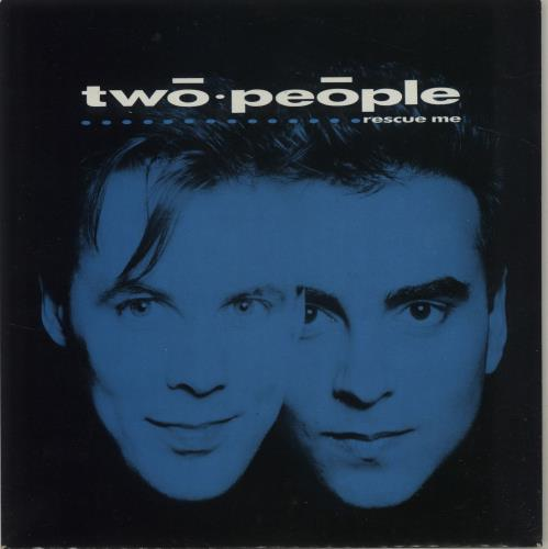 "Two People Rescue Me 7"" vinyl single (7 inch record) UK XW007RE682828"