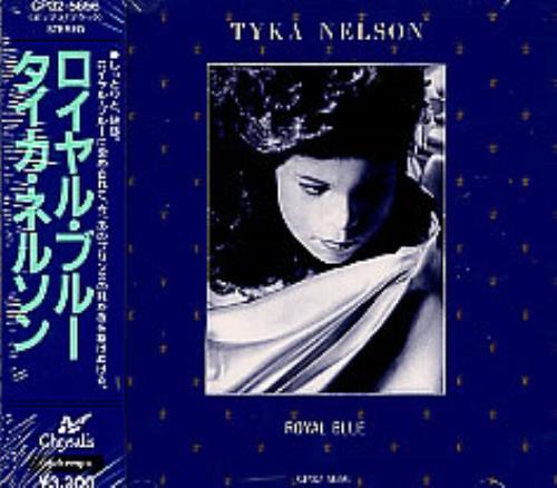 Tyka Nelson Royal Blue CD album (CDLP) Japanese TKNCDRO271225