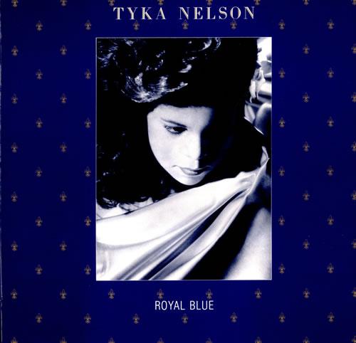 Tyka Nelson Royal Blue vinyl LP album (LP record) UK TKNLPRO499611