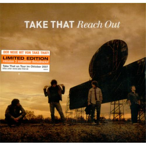 "Take That Reach Out CD single (CD5 / 5"") German TAKC5RE415677"