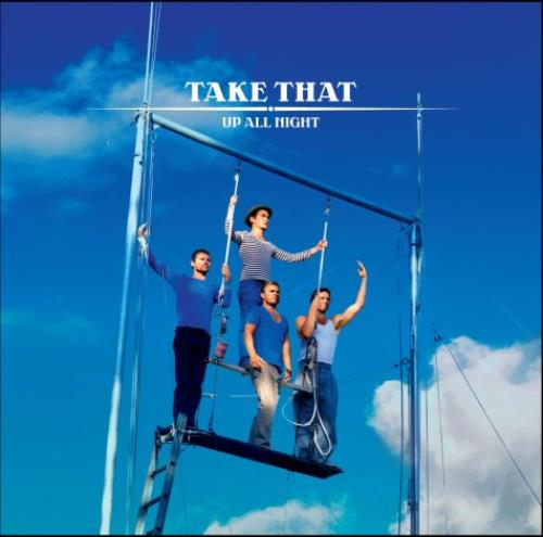 """Take That Up All Night CD single (CD5 / 5"""") UK TAKC5UP461861"""