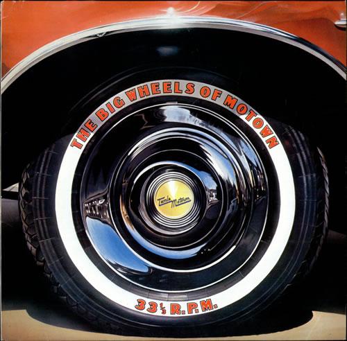 Tamla Motown The Big Wheels Of Motown vinyl LP album (LP record) German MTWLPTH499459