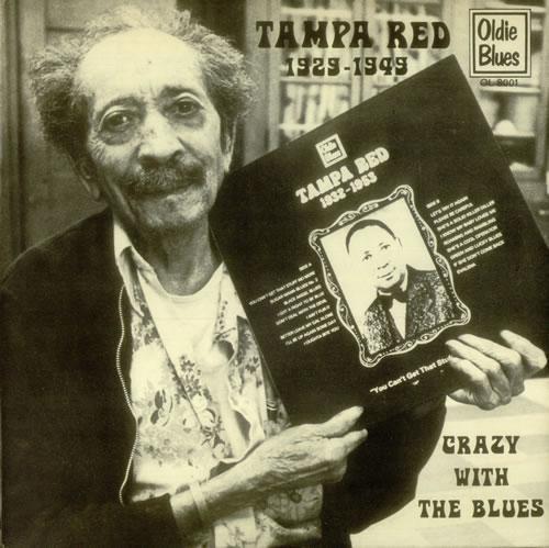 Tampa Red Crazy With The Blues Dutch Vinyl Lp Album Lp