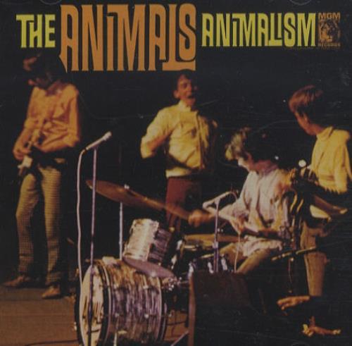 The Animals Animalism CD album (CDLP) US ANMCDAN423531