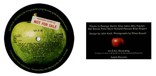 The Beatles Let It Be - Box Set - Factory Sample Vinyl Box Set UK BTLVXLE552358