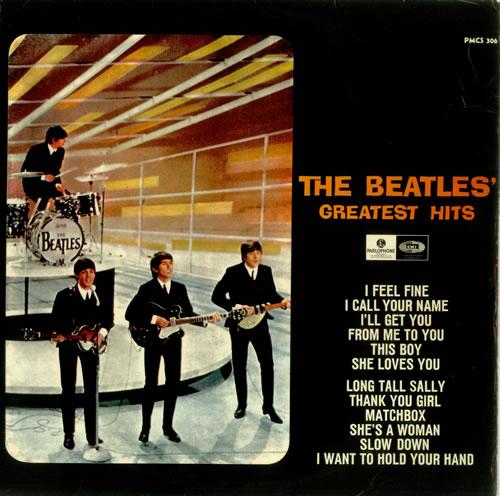 The Beatles The Beatles Greatest Hits Swedish Vinyl Lp