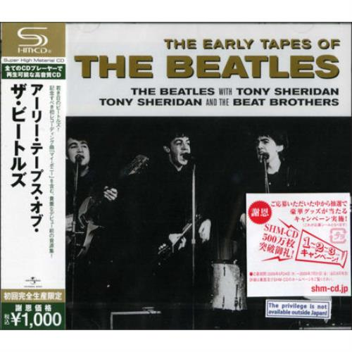 The Beatles The Early Tapes Of The Beatles Japanese Shm Cd