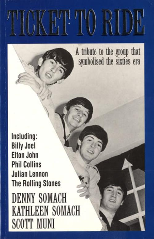 The Beatles Ticket to Ride book UK BTLBKTI556225