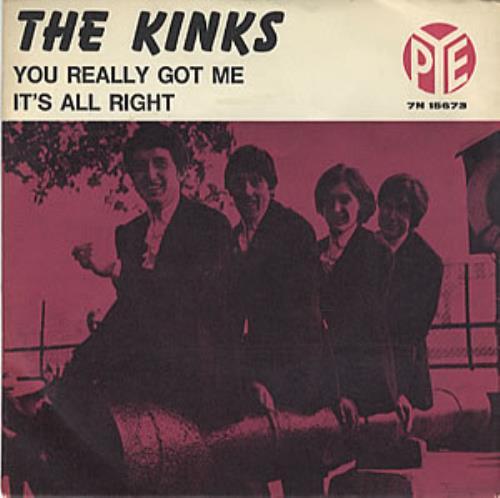 Recordemos el gran cl 225 sico de the kinks you really got me