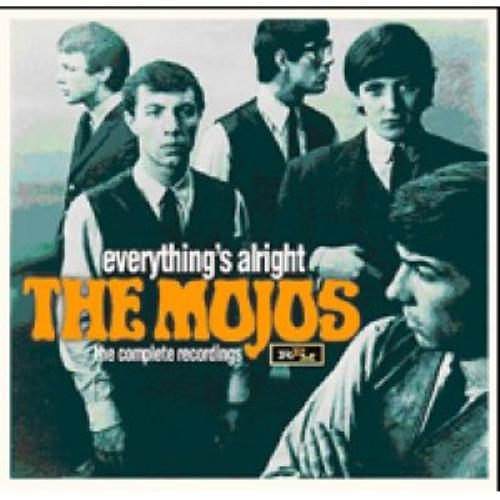 The Mojos Everythings Alright - The Complete Recordings CD album (CDLP) UK JO9CDEV471558