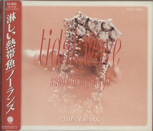 The Nolans Tidal Wave CD album (CDLP) Japanese NOLCDTI05196