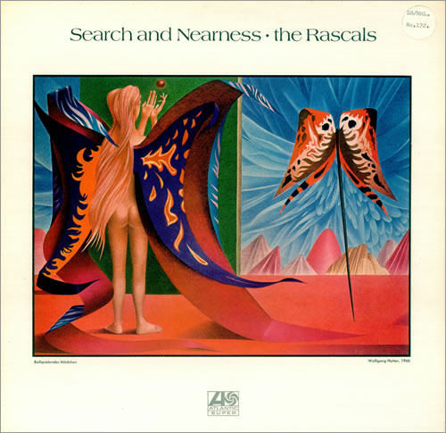 The Rascals (60s) Search And Nearness - Plum & Red vinyl LP album (LP record) UK RSCLPSE453759