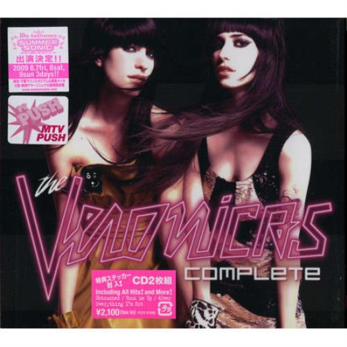 The Veronicas Complete 2 CD album set (Double CD) Japanese TVC2CCO457379