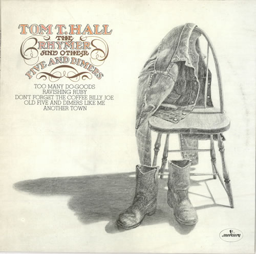 Tom T Hall The Rhymer And Other Five And Dimers Uk Vinyl