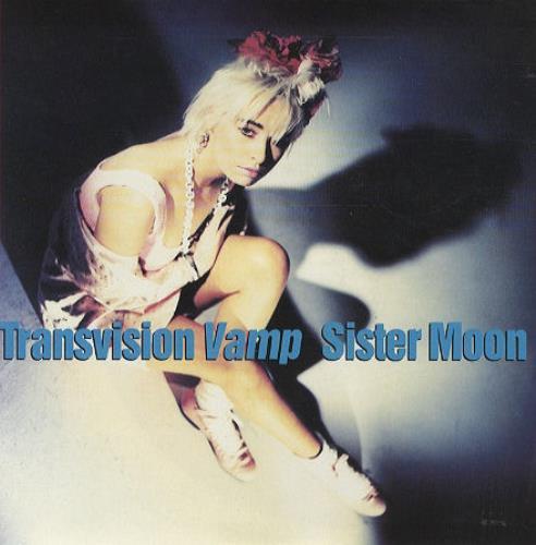 "Transvision Vamp Sister Moon 7"" vinyl single (7 inch record) UK TVV07SI187909"