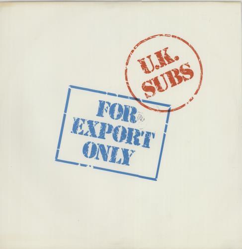 U K Subs Crash Course Purple Vinyl 12 Quot Ep Uk Vinyl Lp