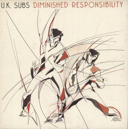U K Subs Diminished Responsibility Red Vinyl Uk Vinyl
