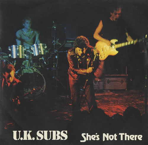 U K Subs She S Not There Ep Green Vinyl Uk 7 Quot Vinyl
