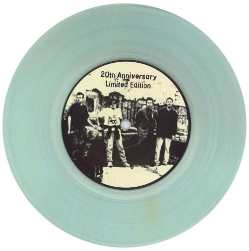 """U.K. Subs War On The Pentagon - Clear Vinyl + Signed by Nicky 7"""" vinyl single (7 inch record) US UKS07WA775880"""