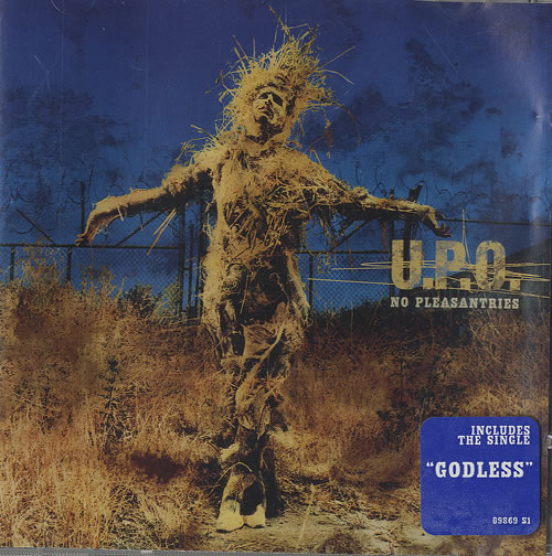 U.P.O No Pleasantries CD album (CDLP) UK UAKCDNO487570