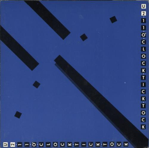 "U2 11 O'Clock Tick Tock - 2nd - EX 7"" vinyl single (7 inch record) Irish U-207OC515868"