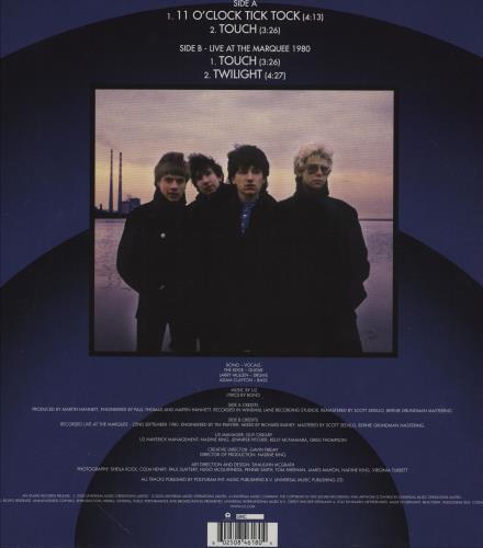 "U2 11 O'Clock Tick Tock - Blue Vinyl - RSD 2020 - Sealed 12"" vinyl single (12 inch record / Maxi-single) UK U-212OC751214"