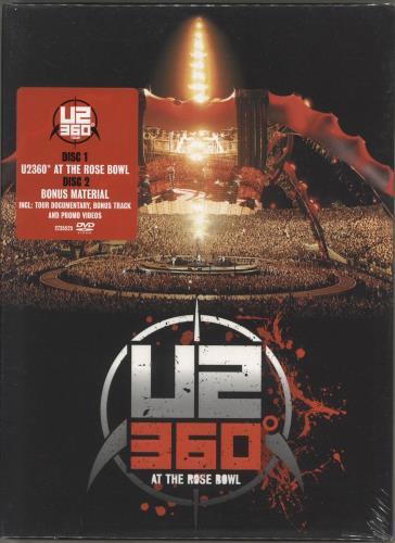 U2 360° At The Rose Bowl - Deluxe Edition - Sealed DVD UK U-2DDAT745054