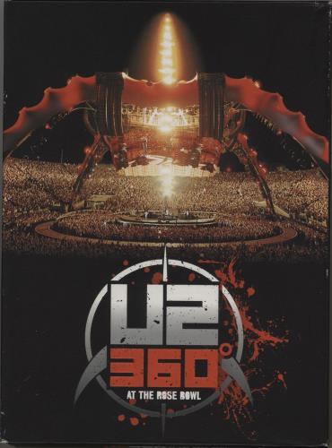 U2 360° At The Rose Bowl - Deluxe Edition DVD UK U-2DDAT503768