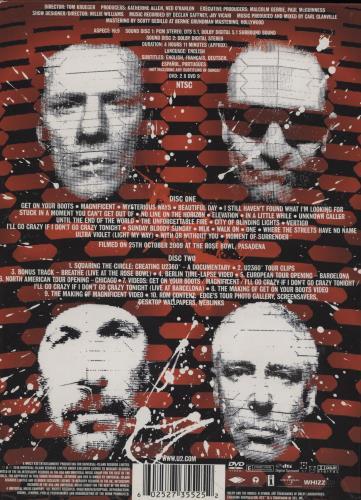 U2 360° At The Rose Bowl - Deluxe Edition DVD UK U-2DDAT503768