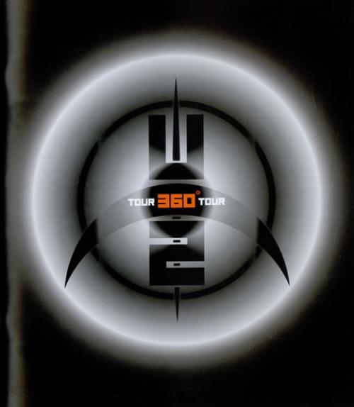 U2 360° Tour - European Leg 30th June - 22nd August tour programme UK U-2TRTO482839